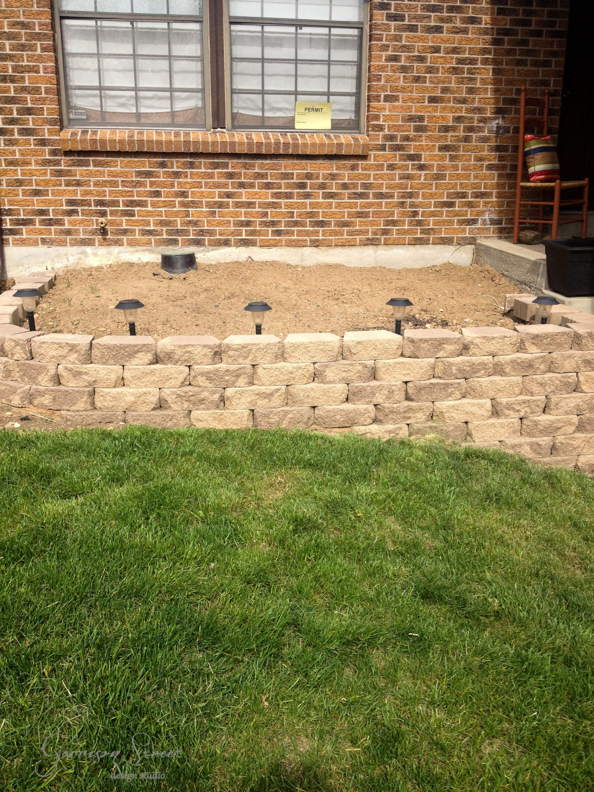 Old Fashioned Block Retaining Wall Ideas Component - Art & Wall ...