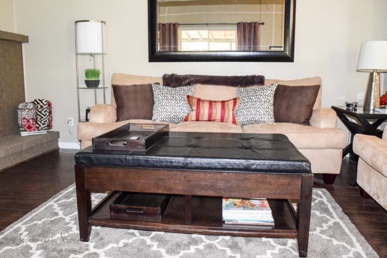Ready, Set, Move In Part II – Family Room Update