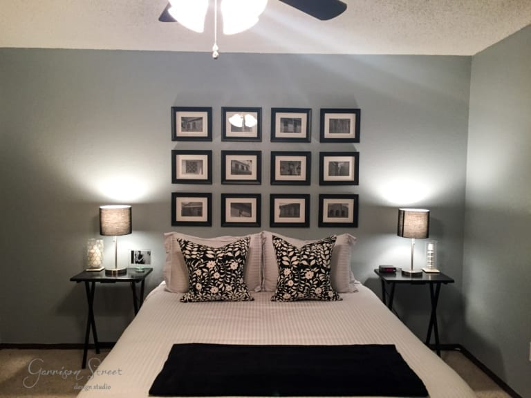 Ready, Set, Move In Part V – A Blue Guest Room