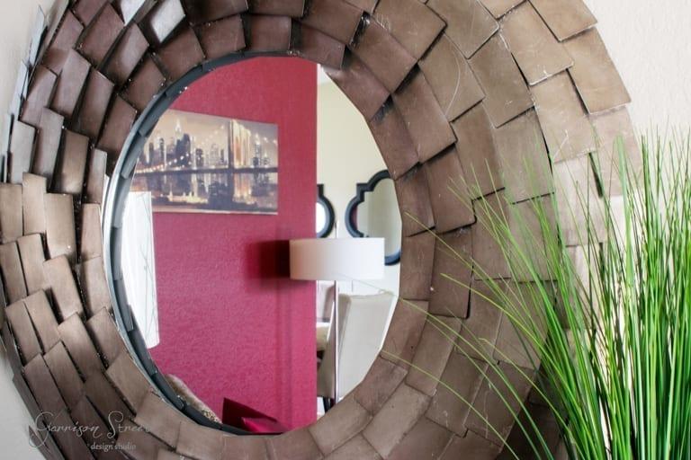 Modern Industrial Mirror