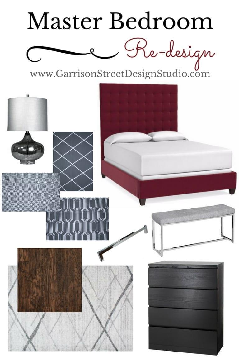 Master Bedroom Re-design Preview