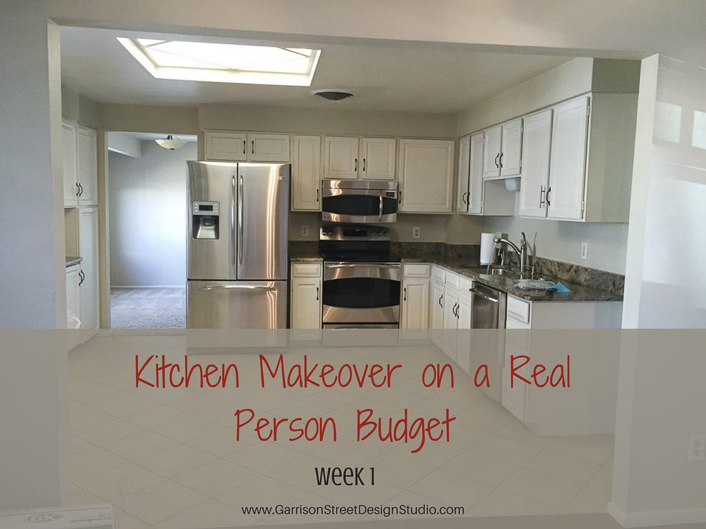kitchen makeover on a budget garrison design studio 8350
