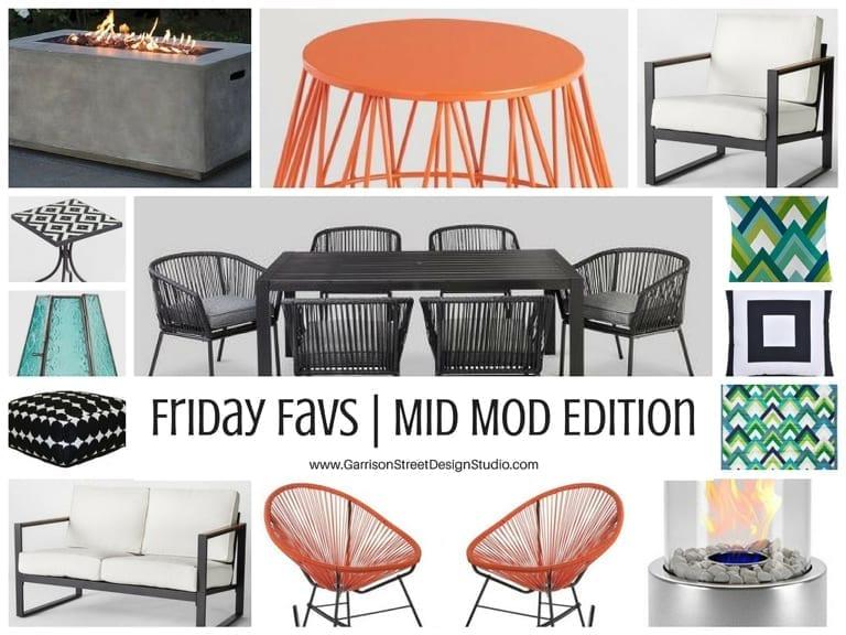 Friday Favs | Mid Mod Edition