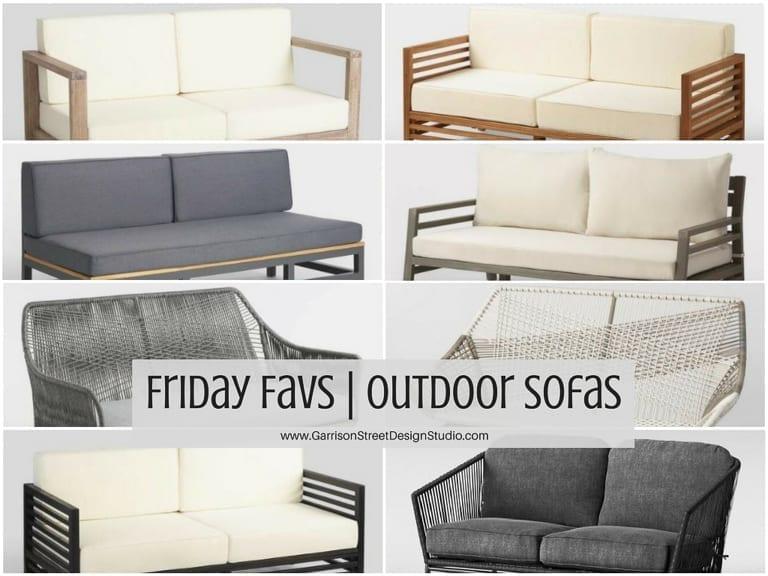 Friday Favs | Outdoor Sofas
