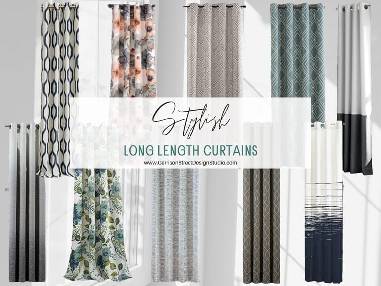 Stylish Long Length Curtains